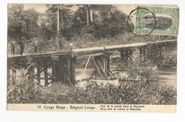 Congo Belge Pont De La Lukula Dans Le Mayumbe Carte Postale Ancienne - Belgian Congo - Other