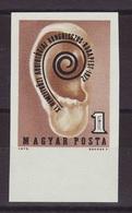 1972.  XI. International Audiology Congress -  Imperforate - Hungary