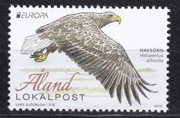 Aland, Fauna, Birds, EUROPA MNH / 2019 - Eagles & Birds Of Prey