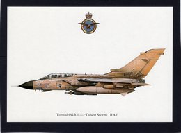 Tornado GR.1  -  'Desert Storm', RAF   -  CPM - 1946-....: Ere Moderne