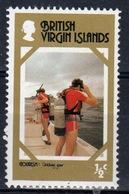 British Virgin Islands 1979 Queen Elizabeth Single Half Cent Stamp Celebrating Tourism. - British Virgin Islands