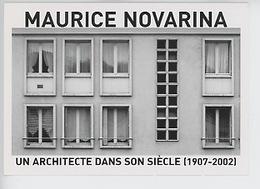 Maurice Novarina Architecte 1907/2002 CAUE 27 Reconstruction - Pont Audemer : Immeuble Di Quai Robert Leblanc - Bâtiments & Architecture