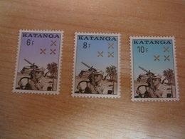 (07.06) KATANGA **    1962 Nrs 79/81 - Katanga