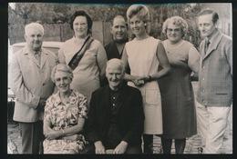 LAARNE    FOTO 1973    --  50 JAAR GETROUWD   THEOFIEL  DE BRUYCKERE - IRMA EVERAERT  15 X 8 CM - Laarne