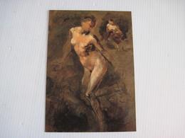 Carte Genre CPSM CARPEAUX PEINTRE  SCULPTEUR Musée Du Luxembourg PARIS 2000  TBE - Museos