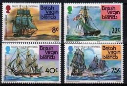 British Virgin Islands 1976 Queen Elizabeth Set Of Stamps Celebrating Bi-Centenary Of American Revolution. - British Virgin Islands
