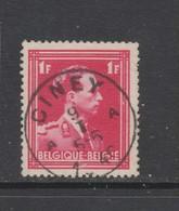 COB 428 Oblitération Centrale CINEY A - 1936-1957 Col Ouvert