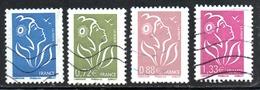 N° 4153,54,55,57 - 2008 - 2004-08 Marianne Of Lamouche