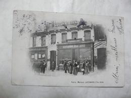 CPA 75 PARIS-Maison LEFEBVRE Fils Aîné. Scène Animée - Cafés, Hôtels, Restaurants