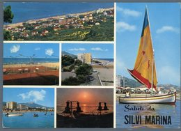 °°° Cartolina N. 60 Saluti Da Silvi Marina Viaggiata °°° - Teramo