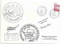 YT 2952 - Camargue - Posté à Bord De L'Astrolabe - Dumont D'Urville - Terre Adélie - 28/02/1996 - France