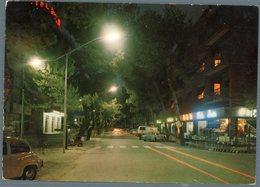 °°° Cartolina N. 61 Silvi Marina Via Garibaldi Notturno Viaggiata °°° - Teramo