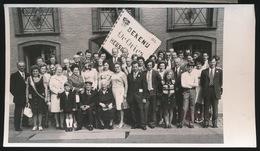 HEUSDEN   FOTO 1973    ---   DIAMANTEN BRUILOFT  M.MALFAIT EN MARIA VERLEYEN    15 X 8 CM - Destelbergen