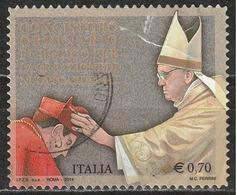 Italia 2014 - 0,70 Cent. Papa Francesco Nuovi Cardinali - 6. 1946-.. Repubblica