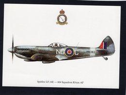 Spitfire LF.16E  -  604 Squadron RAux AF   -  CPM - 1939-1945: 2ème Guerre