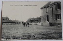 CPA Allemagne Ak Dortmund Caserne Des Schupos Kaserne Soldaten Occupation De La Rhur Armée Française - Dortmund