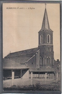 Carte Postale 62. Burbure L'église  Très Beau Plan - France
