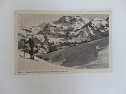 Der Wildstrubel, Passhohe Gstaad-Lenk. Envoyée Du Royal Hôtel Winter Palace. - BE Berne