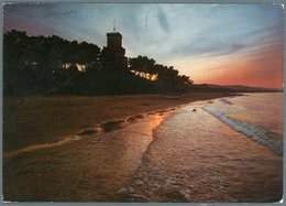 °°° Cartolina N. 62 Silvi Marina Tramonto Viaggiata °°° - Teramo