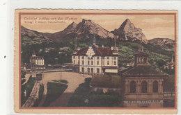 "Art Golda - Bahnhof - Bahnstempel ""Basel-Milano-Basel""  - 1921       (90606) - SZ Schwyz"
