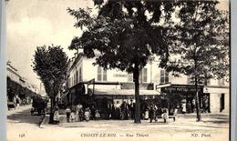 94 CHOISY LE ROI  :  RUE THIERS CAFE RESTAURANT COMMERCE - Choisy Le Roi