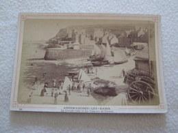 PHOTO ALBUMINE - ARROMANCHES - La Grande Cale [Env 165X110 Circa 1870] - Old (before 1900)