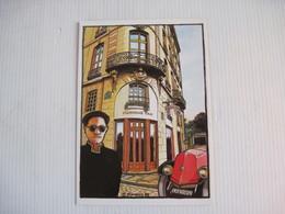 CPSM Marianne Gray Coiffure Signé FUMEUX 88 Vieille Voiture Renault Tacot TBE - Autres Illustrateurs