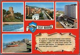 °°° Cartolina N. 65 Silvi Marina Vedutine Viaggiata °°° - Teramo