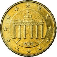 République Fédérale Allemande, 10 Euro Cent, 2002, SUP, Laiton, KM:210 - Allemagne
