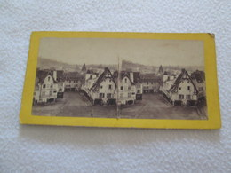 PHOTOGRAPHIE STEREOSCOPIQUE - Vue De CUSSET [cliché MESNARD 180X85 Circa 1880] - Photographs