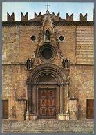 °°° Cartolina N. 66 Teramo Portale Del Duomo Viaggiata °°° - Teramo