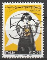 Italia 2016 - 0,95 Cent. Lucca Comics - 6. 1946-.. Repubblica