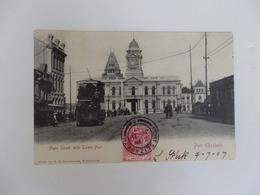 Port Elizabeth, Main Street With Cown Hall. - Südafrika