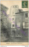 30. BARJAC . Tour Du Chateau . - Frankreich