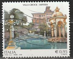 Italia 2016 - 0,95 Cent. Villa Grock, Imperia - 6. 1946-.. Repubblica