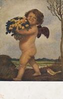 A.HENGELER Ich Gratuliere Feldpgl1918 #D3846 - Feiern & Feste