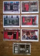 Lot De 7 Cartes Postales / Pubs Irlandais / Irlande - Autres