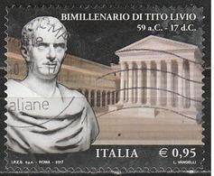 Italia 2017 - 0,95 Cent. Tito Livio - 6. 1946-.. Repubblica
