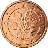République Fédérale Allemande, 2 Euro Cent, 2002, TTB, Copper Plated Steel - Allemagne