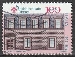 Italia 2017 - 0,95 Cent. British Institute Di Firenze - 2011-...: Usati