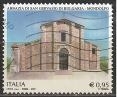 Italia 2017 - 0,95 Cent. Abbaxxia Di Gervasio Of Bulgaria A Mondolfo - 2011-...: Usati