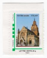 "Timbre Personnalisé ""MonTimbreàMoi"" Notre-Dame De Calais 09 Novembre 2013 - France"