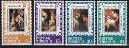 British Virgin Islands 1981 Queen Elizabeth Set Of Stamps Celebrating Christmas. - British Virgin Islands
