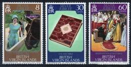 British Virgin Islands 1977 Queen Elizabeth Set Of Stamps Celebrating Silver Jubilee. - British Virgin Islands