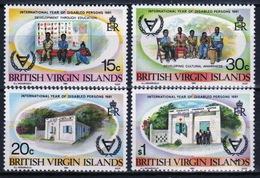 British Virgin Islands 1981 Queen Elizabeth Set Of Stamps Celebrating Year Of Disabled Person. - British Virgin Islands