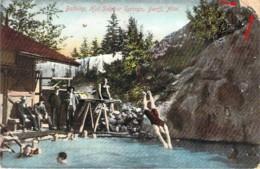 CANADA Bathing Hot Sulphur Springs BANFF Alberta - Banff