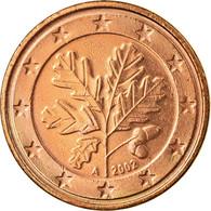 République Fédérale Allemande, 5 Euro Cent, 2002, TTB, Copper Plated Steel - Allemagne