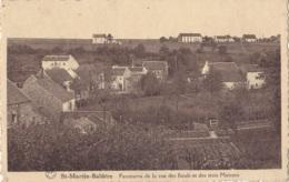 St-Martin-Balâtre Panorama De La Rue Des Fonds Et Des Trois Maisons Circulée - Jemeppe-sur-Sambre