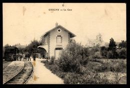51 - CRUGNY - La Gare - Autres Communes