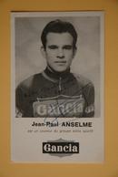 CYCLISME: JEAN PAUL ANSELME - Cycling